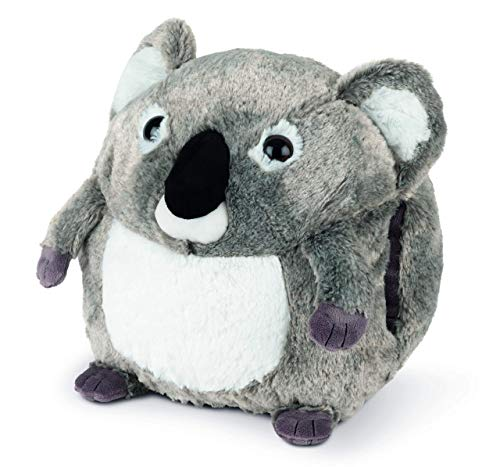 COZY NOXXIEZ Calentador de manos para niños de peluche – Peluche de peluche, almohada como cojín de calor suave para cama, coche y hogar (Koala)