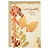 Dayspring Sympathy Card for Loss of Mother (Butterfly)