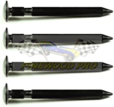 Pinewood Pro Pine Derby Axles - PRO Super Speed Graphite Coated with 2 Grooves (Set of 4)