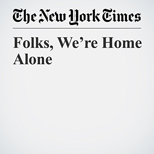 Folks, We're Home Alone copertina