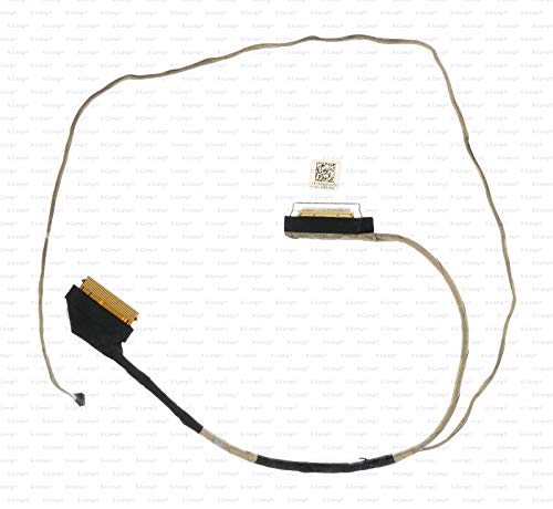X-Comp Display LCD Video Cable DC020024C00 for Dell Inspiron 15 3558 3559 555 5558 5559 17 5758 Vostro 15 3558 3559 Series