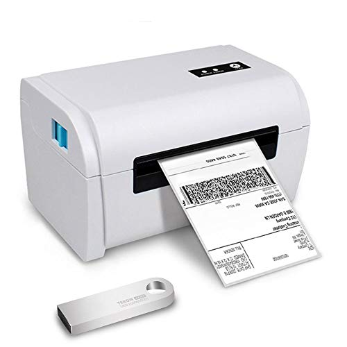 TEROW T9200 USB Thermal Label Printer 4×6 160mm/s High-Speed Desktop Label Printer 4.3inch width adjustable Barcode Printer for shipping mailing compatible with Etsy/Ebay/Amazon/FedEx/UPS/Shopify/USPS
