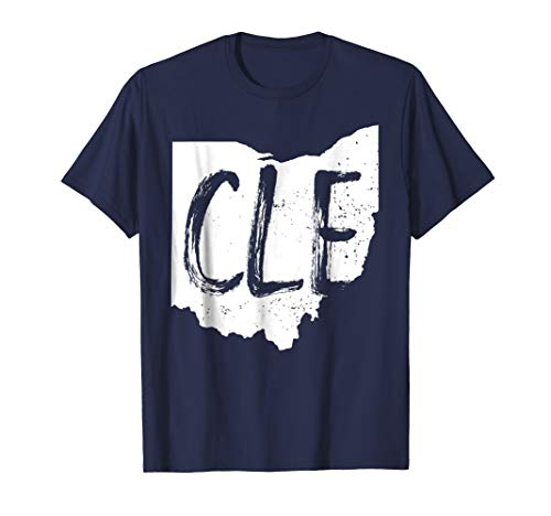 Distressed Cleveland CLE Ohio Shirt