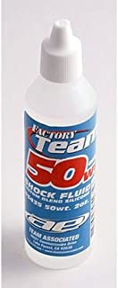 Team Associated 5435 50 Weight Silicone Shock Oil, 2-Ounce