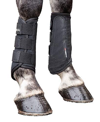 Shires Arma Brushing Boots Black Full