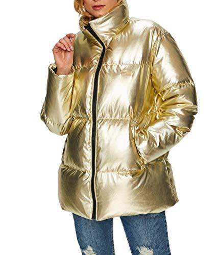 Tommy Hilfiger Damen Daunenjacke Tommy Icons Puffer Jacket gelb (31) XS