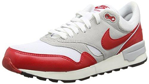 Nike Air Odyssey, Zapatillas de Deporte Hombre, Blanco (White/Unvrsty Red/NTRL Gry/SL 106), 40.5 EU