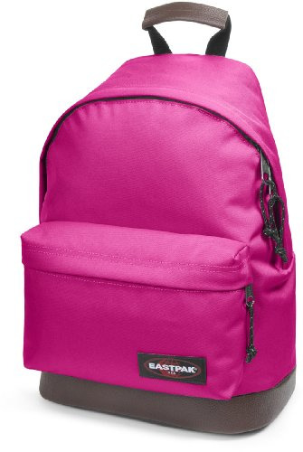 Eastpak Authentic Wyoming Rucksack 40 cm mit Lederboden, pink me up
