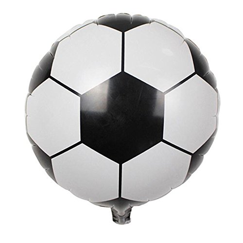 AKDSteel Funny Toy, 18 Inch Inflatable Round Football Volleyball Basketball Toy Football Ideal Gift for Kids, Friends