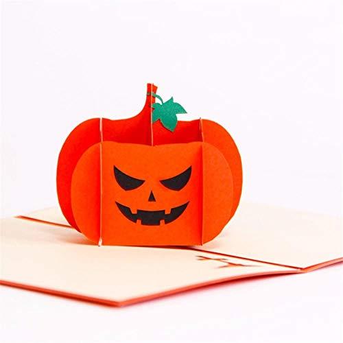 Scary Spooky 3D Halloween wenskaart voor kinderen Halloween thema partij Sep#06 D