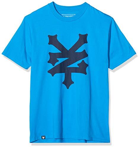 Zoo York Corning T-Shirt, Blu, 2XL Uomo