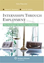 Paralegal Job Hunters Handbook: From Internships To Employment (Aspen College)                                              best Job Hunting Books