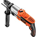 BLACK+DECKER KR8542K-QS - Taladro percutor con cable 850 W, incluye...