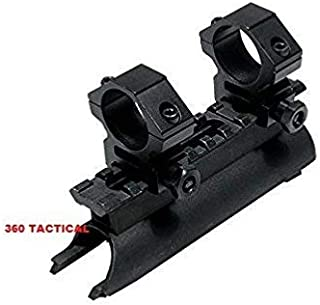 GOTICAL SKS Rifle See Through Receiver Cover Replacement High Profile Tactical Scope Weaver Picatinny Rail Mount with 1