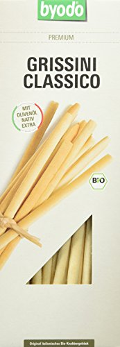 Byodo Grissini Classico, 6er Pack (6 x 125 g Packung) - Bio