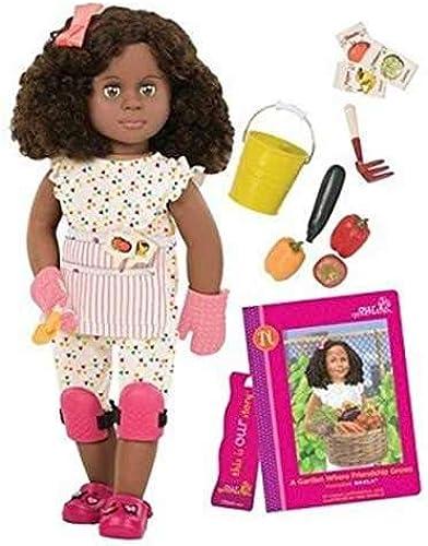 Deluxe Nahla Garden Doll & Book AA