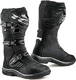 Botas de Moto TCX Baja GTX Negro, Negro, 43