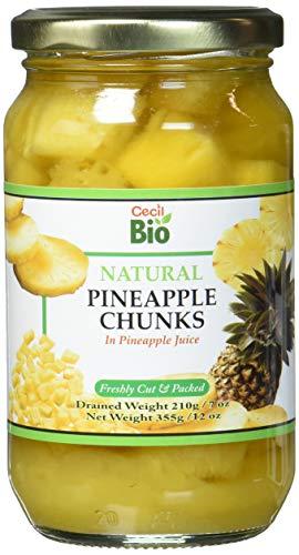 Cecil Bio Natürlich-Ananasstücke, 350ml (6er-Pack)