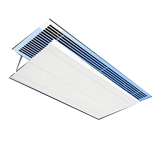 FYZS Air conditioning deflector Central Air-conditioning Air Guide Plate Connected by Chain, Air Outlet Baffle to Prevent Direct Blowing, Air-conditioning Wind Direction Deflector with Adjustable Ceil