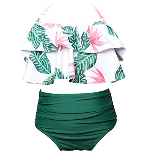 Bikini Talle Alto Cuello Halter Conjunto Bikinis Relleno