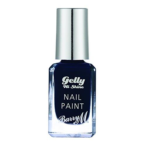 Barry M Cosmetics Gelly Nail Paint, Black Grape