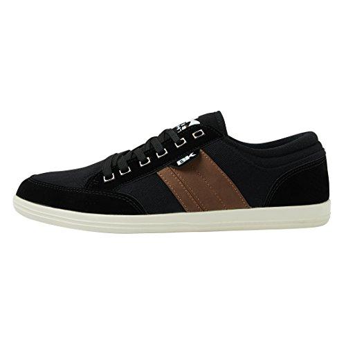 British Knights Kunzo BK Unisex Sneaker schwarz, Schuhgröße:45 EU