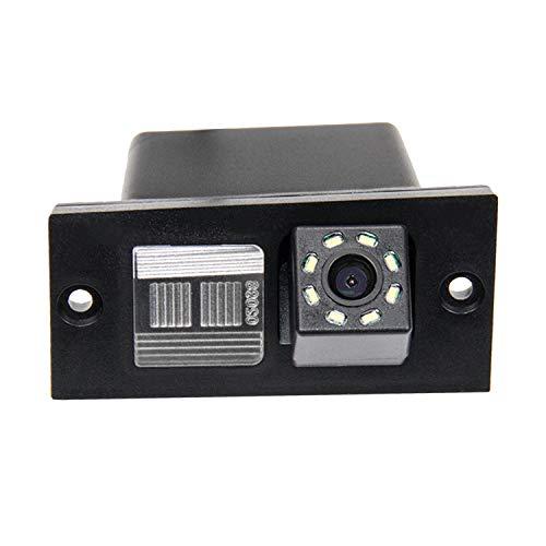 HD 720p Nachtsicht Rueckfahrkamera Wasserdicht Farbkamera 170° Rückfahrkamera Kennzeichenleuchte Einparkhilfe Kamera für Hyundai H-1 (2007-2017) Starex (2007-2017)