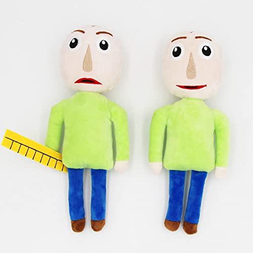 Betory 2 muñecas de peluche Baldi básicas en educación y aprendizaje, muñeca Cosply de 25 cm, juguete con sonrisa enfadado, regalo de Navidad o cumpleaños para niños