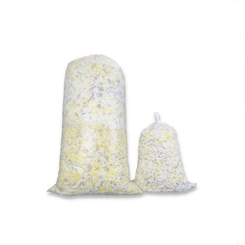 Fränkische Schlafmanufaktur 10kg Polyurethan - Kaltschaumflocken 2. Wahl, Schaumstoffflocken