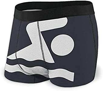 Yuanmeiju Mens Boxer Shorts Fitted Bragas Swimming Swimmer Trunks Quick Dry Ropa Interior