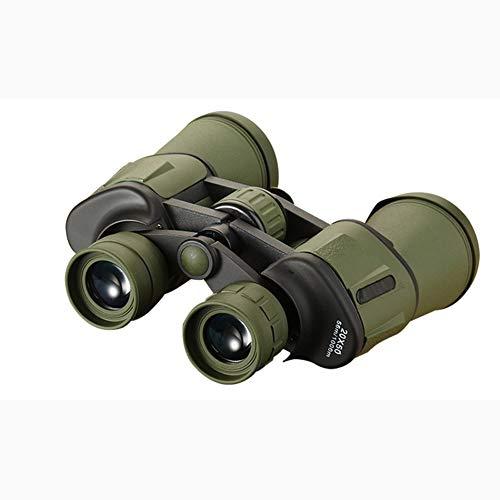 IUANUG 20X50 HD binocolo per Adulti con POCA Luce Notturna binocolo Compatto Oculare ad Alta Potenza per scarsa visibilità Notturna(20 Volte),A