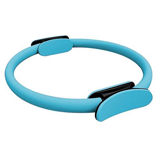 FBSPORT Pilates Ring, Pilates Circle 38cm, Widerstandsring Doppelgriff Fitness Ring Yoga Rings für Flexibilität, Core-Training