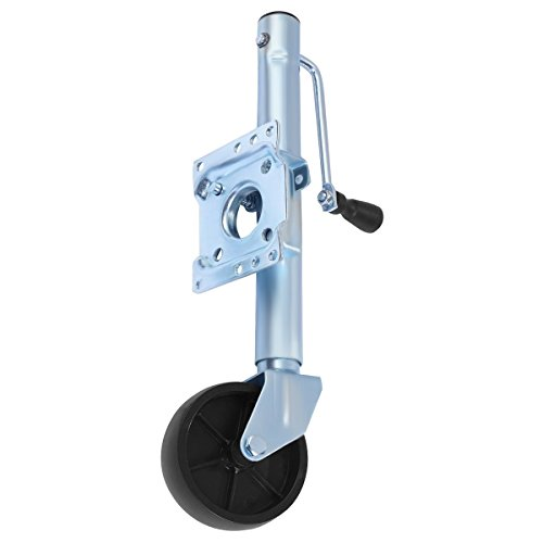 Goplus Trailer Jack Heavy-Duty Swivel Boat Utility RV Trailer Tongue Jack (1000 Lbs Capacity)