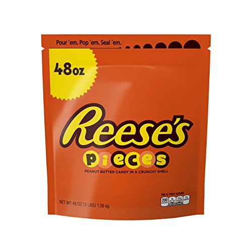 REESE'S PIECES Peanut Butter Candy, Easter, 48 oz Bag by Hershey's