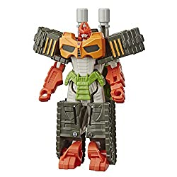 10.5-cm Bludgeon figure: 10.5-cm one-step changer Bludgeon action attackers figure inspired by the transformers Bumblebee cyberverse adventures animated series Repeatable attack move: Convert the evil Bludgeon figure to reveal his signature whirlwind...