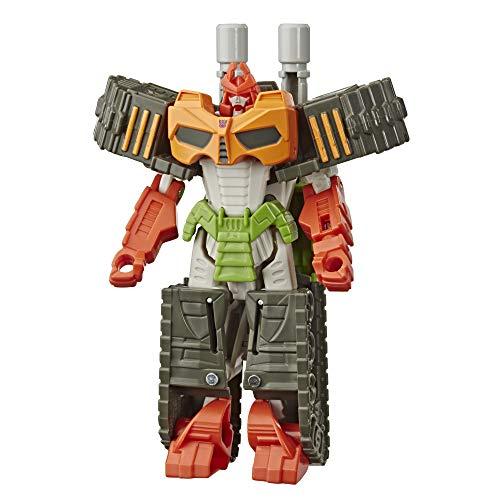 Transformers - Bludgeon (Bumblebee Cyberverse Adventures Action Attackers: 1-Step Action Figure da 10,5 cm, Mossa d'attacco Vortice Tagliente)