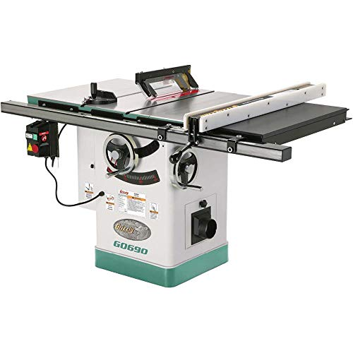 Grizzly Industrial G0690-10' 3HP 220V Cabinet Table Saw with Riving Knife