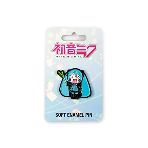Toynk Official Hatsune Miku Enamel Collector Pin   Features Lovable Japanese Pop Icon   Perfect Accessory for Backpacks, Camera Bags, Hats, & More!