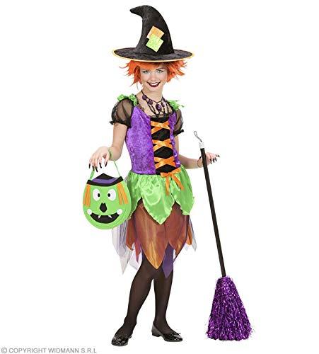 Widmann Perruques 599386031 ? Costume de sorcière Chic Enfant 158 cm de 11 à 13 Ans