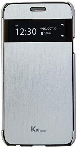 Capa Protetora Quick Cover Clean-Up para K10 Power, Voia, Capa Protetora para Celular, Prata