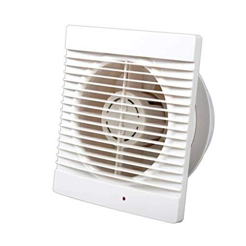 STRAW Extintor, Blanca Lateral de Descarga de Techo o Pared Ventilador de ventilación, función de Control Ampliable y Cubierta extraíble