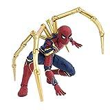 Avengers Toys -Marvel Avengers Infinity War Iron Spiderman AMP Etapa 15cm Spider Man Super Hero Figu...