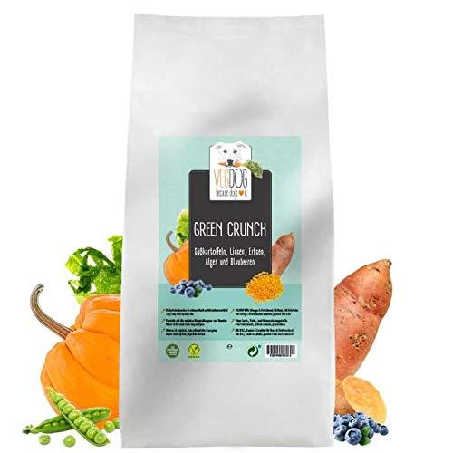 VegDog Vegetarisches Hundealleinfutter Green Crunch, 1er Pack (1 x 12000 Grams)