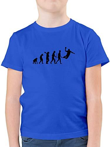 Evolution Kind - Handball Evolution Herren - 152 (12/13 Jahre) - Royalblau - Evolution Kind - Evolution Handball - F130K - Kinder Tshirts und T-Shirt für Jungen