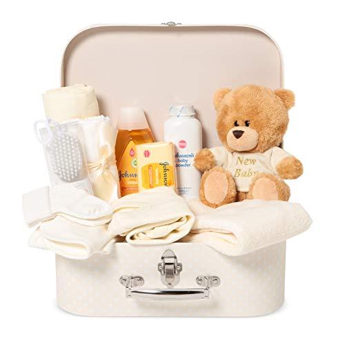 Baby Box Shop - Cesta regalo bebé para baby shower con todo...