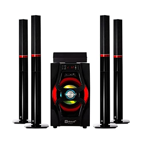Home Theater 5.1 Dotcell DC-S2150 - Bluetooth Subwoofer 75w