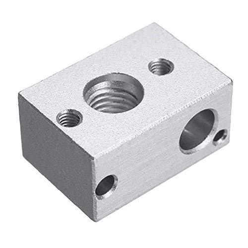 LONGJUAN-C Aluminum Alloy PT100 Heating Block for 3D Printer 3D Printer