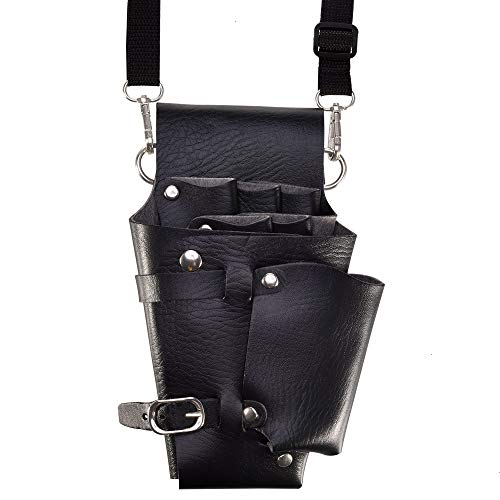 Mosuch Leather Scissor Holster,Scissor Pouch Holster with Belt for...