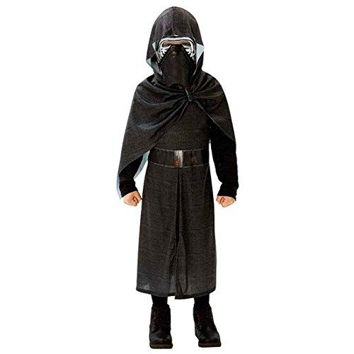 Amakando Kylo Ren Deluxe Kostüm Kylo Ren Deluxe Kostüm 164/170 cm 13-14 Jahre Sith Verkleidung Kinder Dunkler Jedi Faschingskostüm Karnevalskostüm Jungen Starwars Robe mit Maske