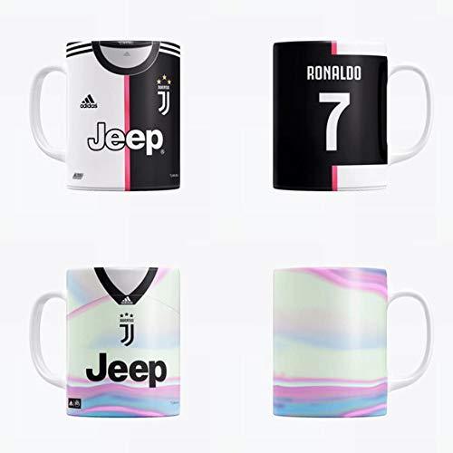 Caneca Camisa Juventus c/seu Nome Grátis Caixinha + Brinde